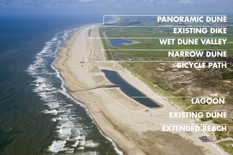 Hondsbossche and Pettemer Sea Defense: a unique beach and dune landscape