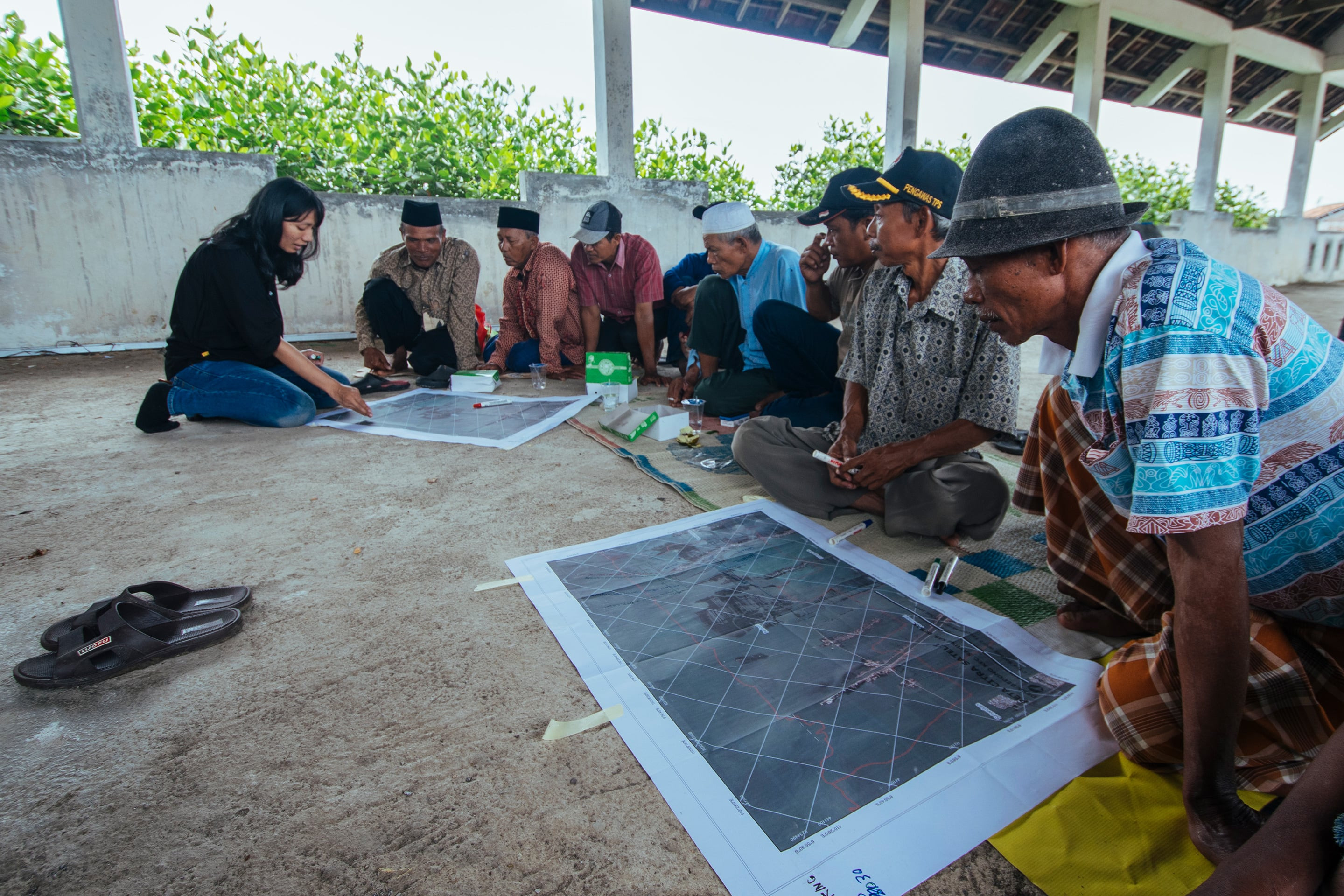 Coastal Field School to train the villagers in critical thinking skills to develop aquaculture practices
