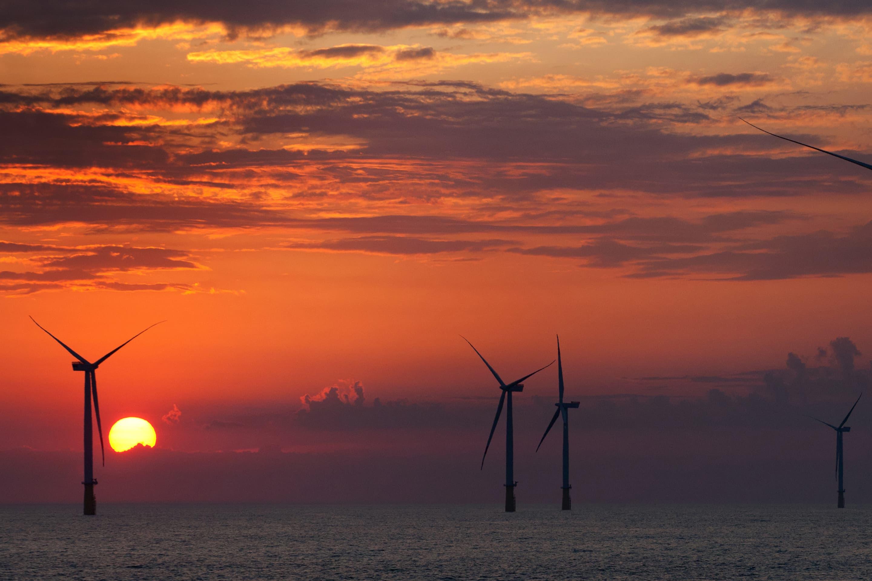 Wind farm — German Bight, North Sea