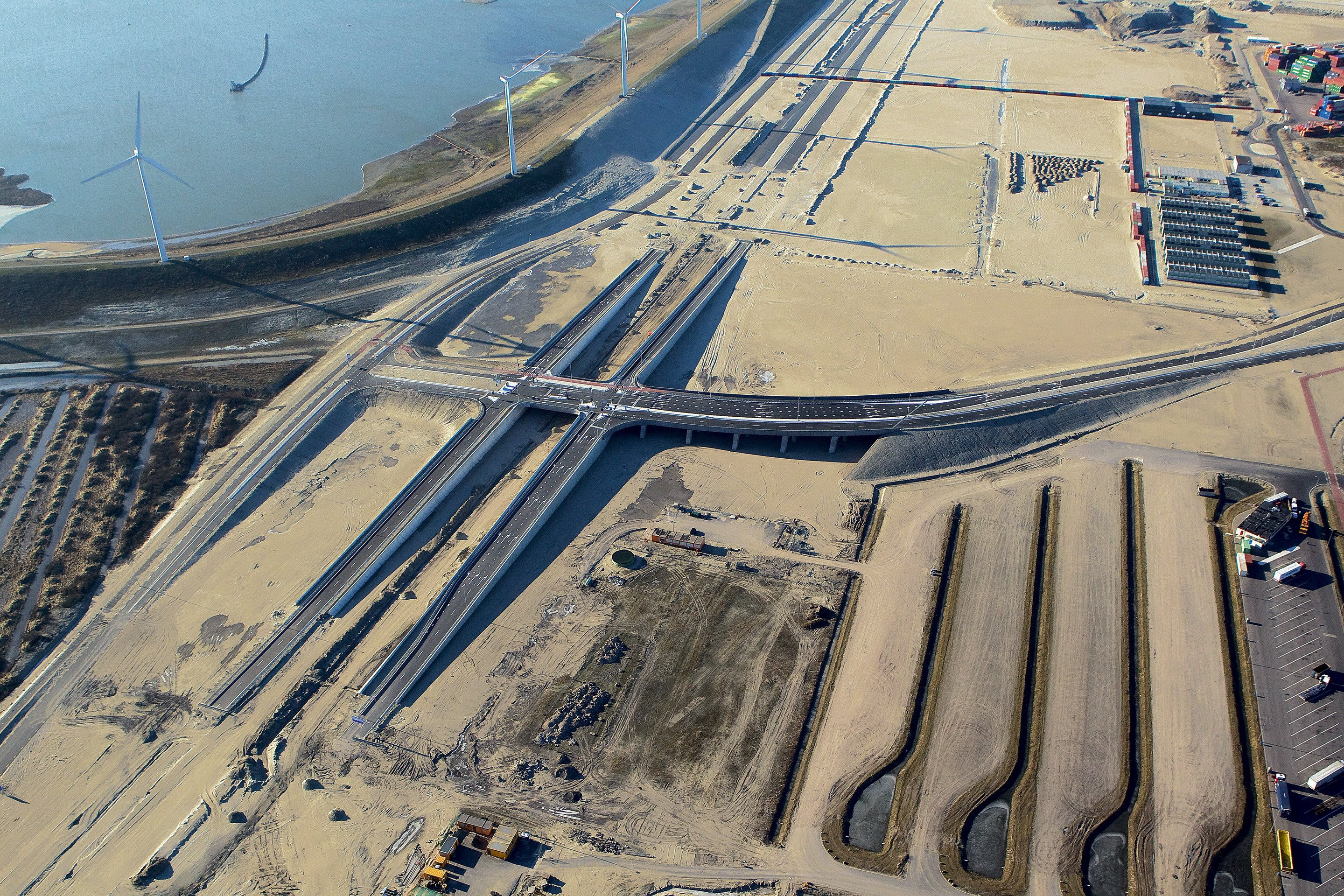 Construction roads and railways