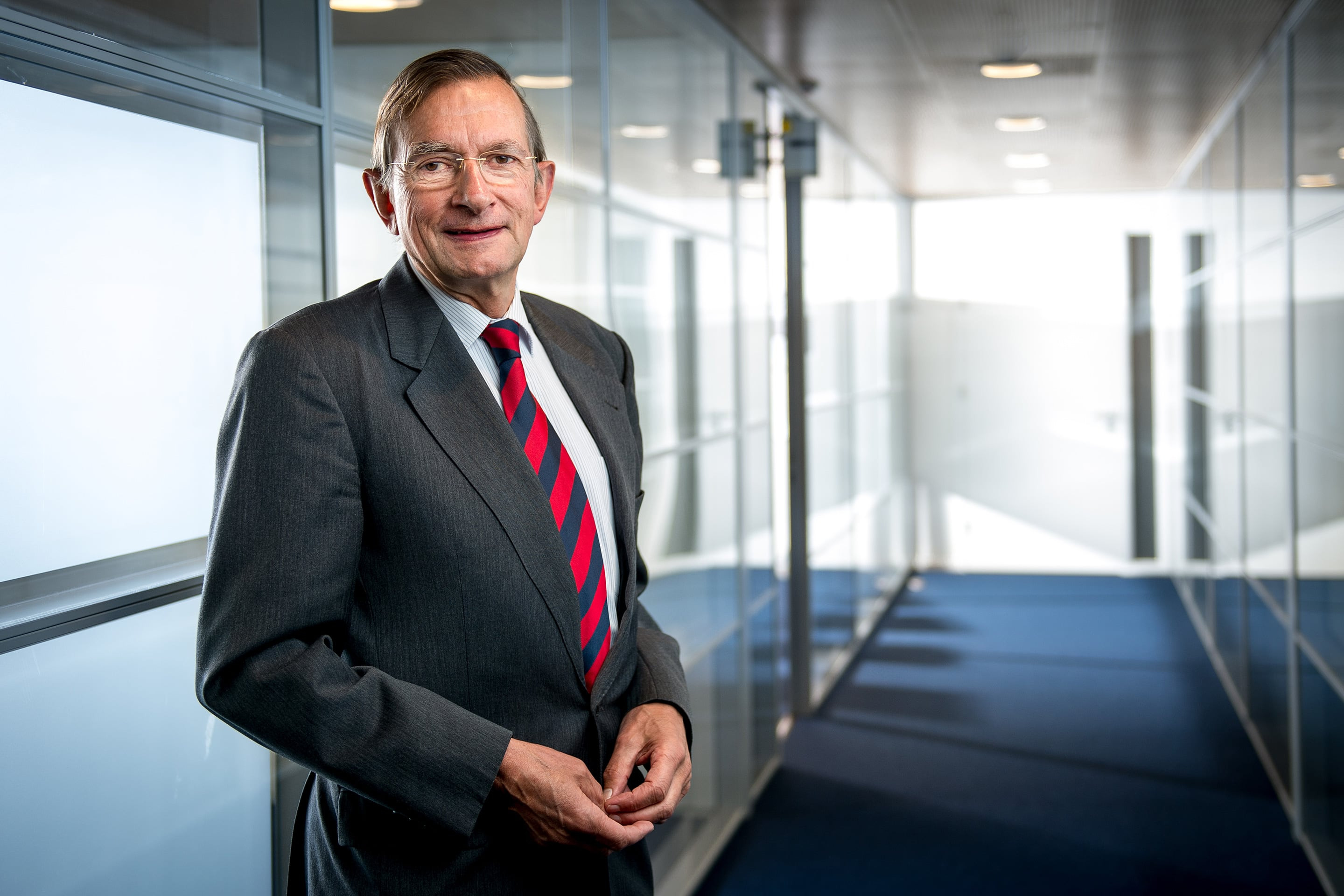 Jeroen van der Veer, the former CEO of Shell, is now co-chairman of the World Economic Forum's Global Forum Agenda for Energy