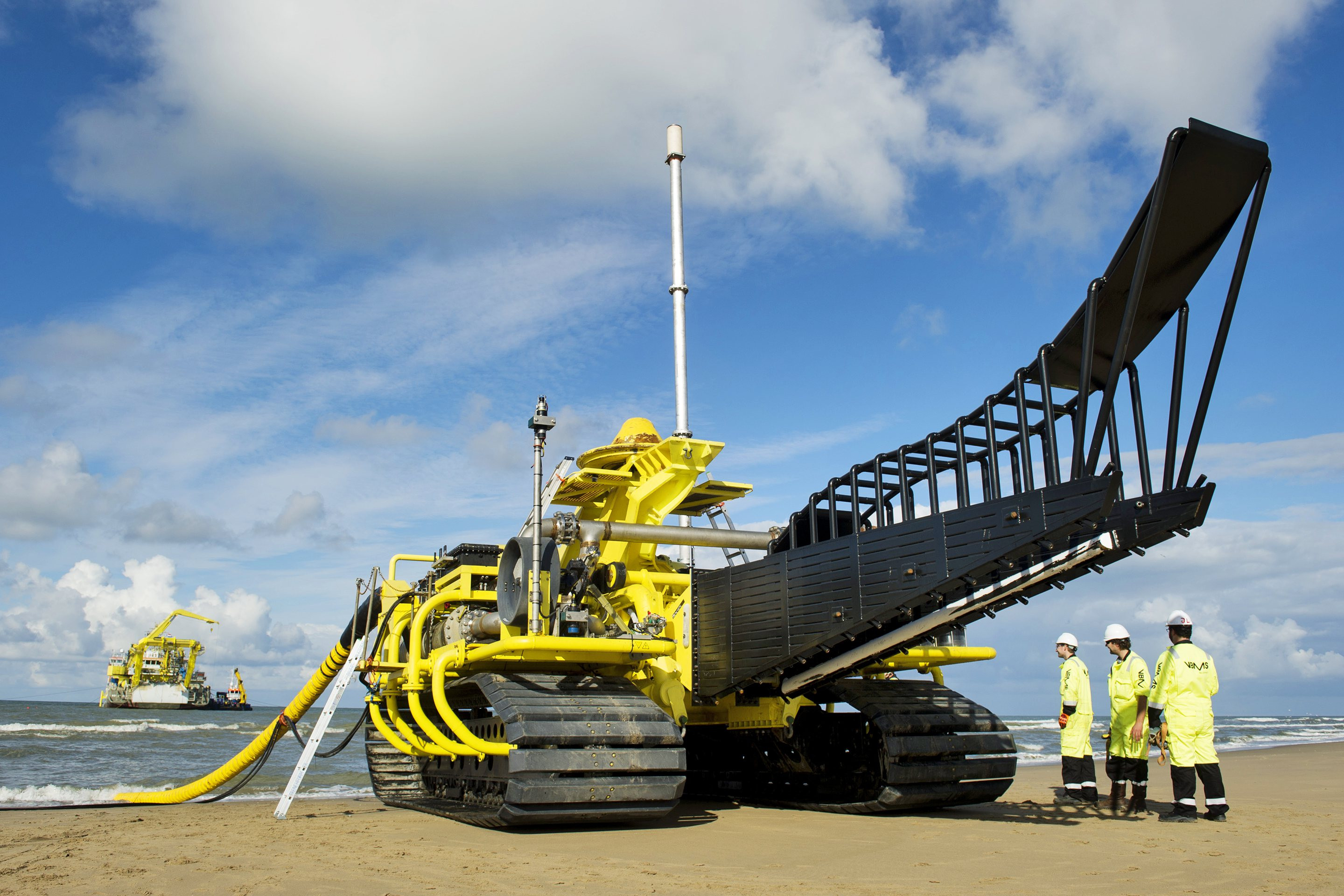 Trenchformer developed by Boskalis and VBMS
